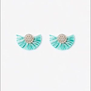 EXPRESS Circle Fringe Earrings!